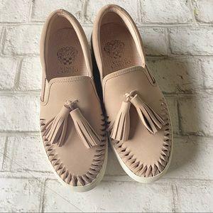 Vince Camuto Kayleena Tasseled Slip-On Shoes Size 6 1/2M